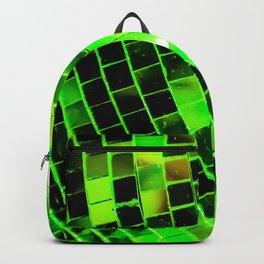Funky Green Disco Ball Backpack