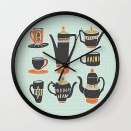 Coffee or Tea? Wall Clock