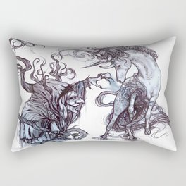The Witch's Captive Rectangular Pillow