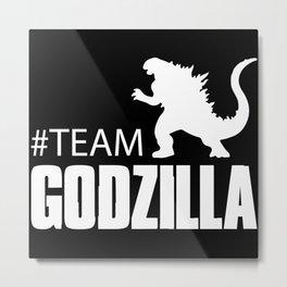 Team Godzilla - Godzilla King of the Monsters Metal Print