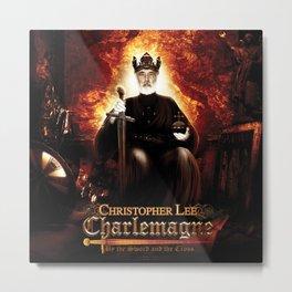 Christopher Lee - Charlemagne Metal Print
