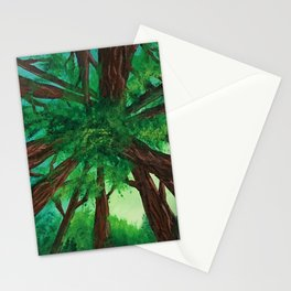 Upwards Forest Stationery Cards