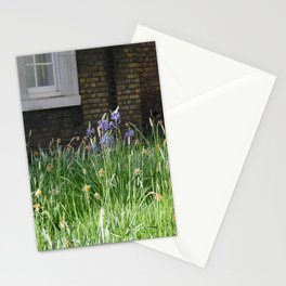 Flowers on a Brick Wall Stationery Cards