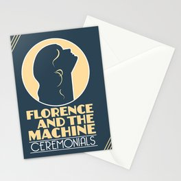 and the machine album florence 2020 ansel1 Stationery Cards