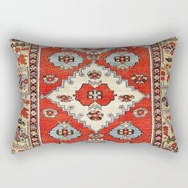 Bakhshaish Azerbaijan Northwest Persian Rug Print Rectangular Pillow