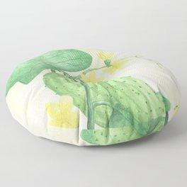 Cucumber Vines Floor Pillow