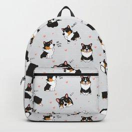 Tri Cute as Hecc Hearts Backpack