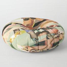 Glitch Pin-Up Redux: Randi Floor Pillow