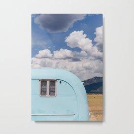 New Mexico Airstream VIII Metal Print