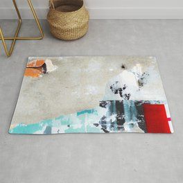 Libertine Landscape Nr 1 - abstract and playful Rug