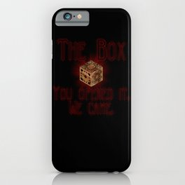 Hellraiser The Box You Opened It iPhone Case