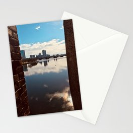 City Over Lake Stationery Cards