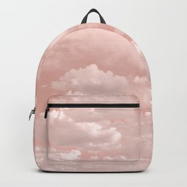 Clouds in a Peach Sky Backpack