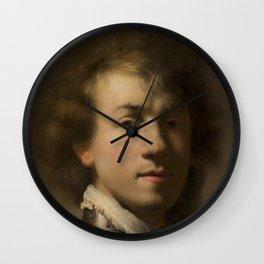 Portrait of Rembrandt Wall Clock