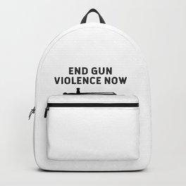 End Gun Violence Now Bring Back The Sword Backpack