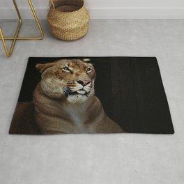 Hercules the liger half lion half tiger Rug