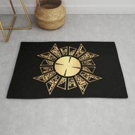 Lament Configuration Opened - Natural Rug