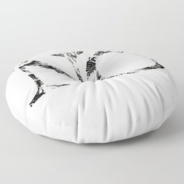 No marbled and fancy Floor Pillow