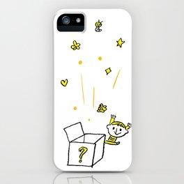 HAPPY BOX iPhone Case