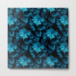 Enchanted Garden - A Fern Pattern Metal Print