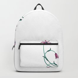 Valentines Day Heart Avocado Flower Cat Gift Idea Backpack