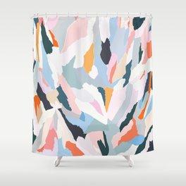 flowerbed Shower Curtain