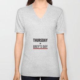 Grey's Day Unisex V-Neck