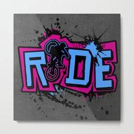 Ride Colors Metal Print