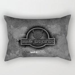 """Vaca - MP: """"Mundo das Cordas"""" Rectangular Pillow"""