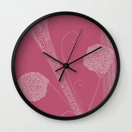 Fresh Lilacs  Wall Clock