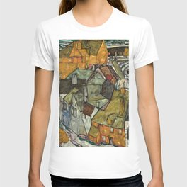 Egon Schiele - Crescent of Houses II (Island Town) T-shirt
