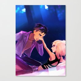 Yuri Plisetsky & Otabek - Welcome to the Madness Canvas Print