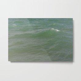 jade waves Metal Print
