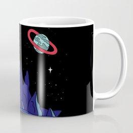 Black Gives way to Blue Coffee Mug