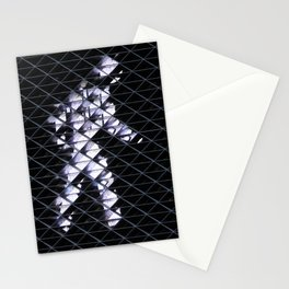 Pedestrian Walk Signal Stationery Cards
