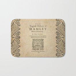 Shakespeare, Hamlet 1603 Bath Mat