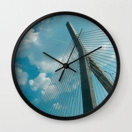 Leonard P Zakim Bridge Wall Clock
