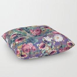 RPE Seamless Floral IV Floor Pillow