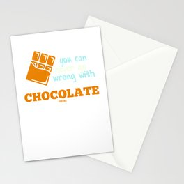 You Can Never Go Wrong With Chocolate Stationery Cards