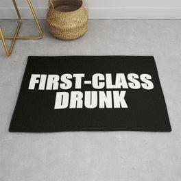 First Class Drunk Rug