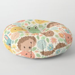 Spring Creatures Floor Pillow