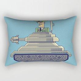 General Mayhem — cartoony vector illustration Rectangular Pillow