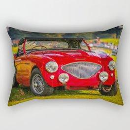 Austin Healey 100 Rectangular Pillow