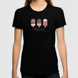 Stay cool popsicles T-shirt