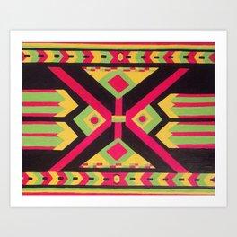 Rasta Tribal Art Print