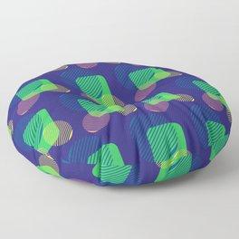 pattern circulos Floor Pillow