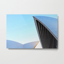 Morning rays, Sydney Opera House Metal Print