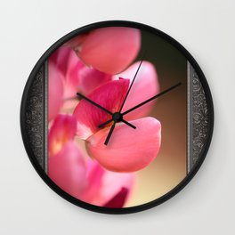 Lupine named Gallery Red Wall Clock