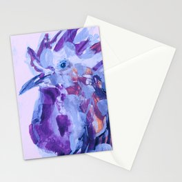 brilliant rooster Stationery Cards