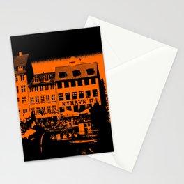 Nyhavn, Copenhagen Denmark Stationery Cards